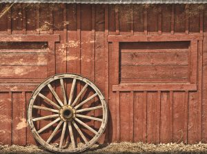 barn background for photo booth