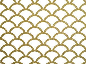 gold scales pattern