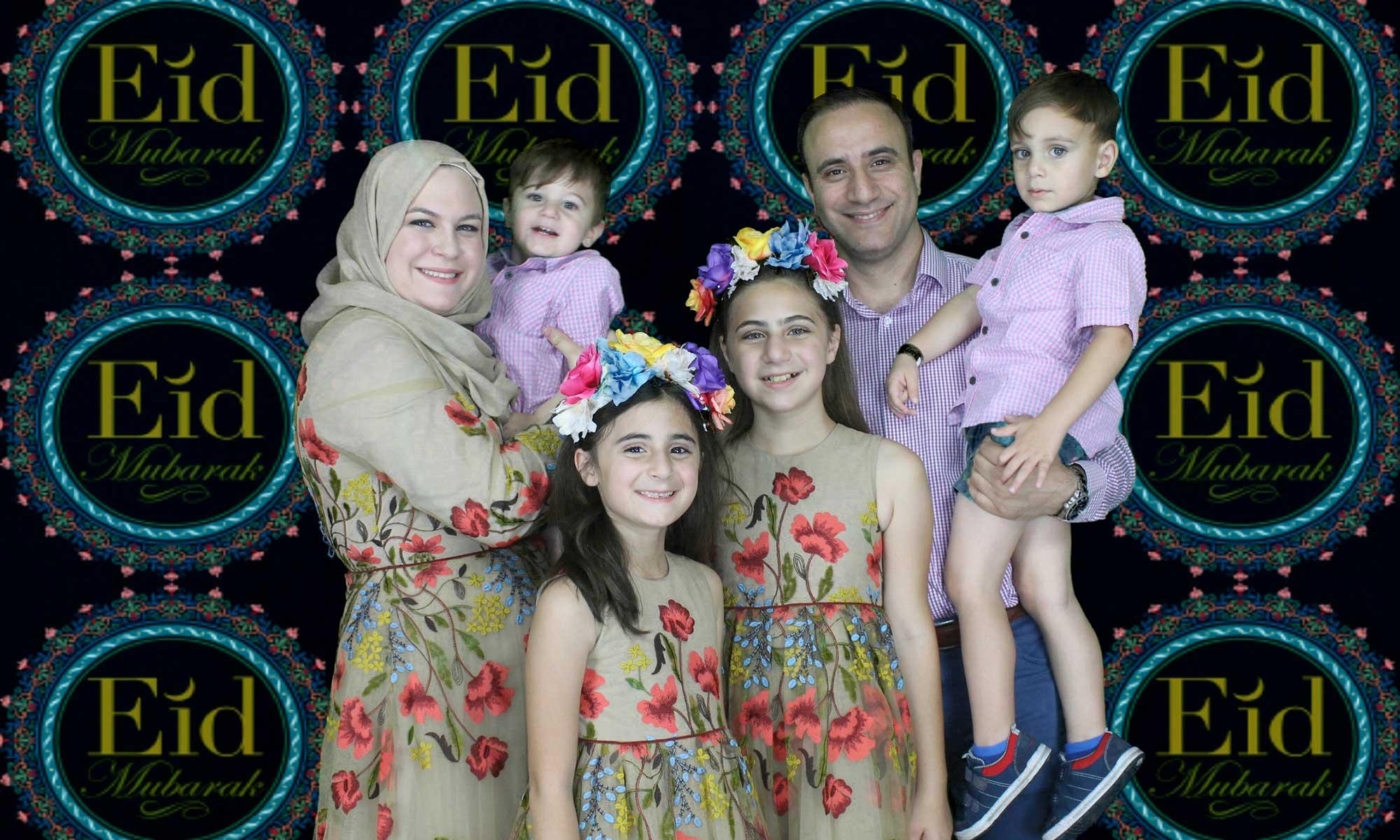 eid mubarak photo booth rental