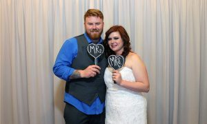 Photo Booth Rental for a Noah's Event Venue wedding.