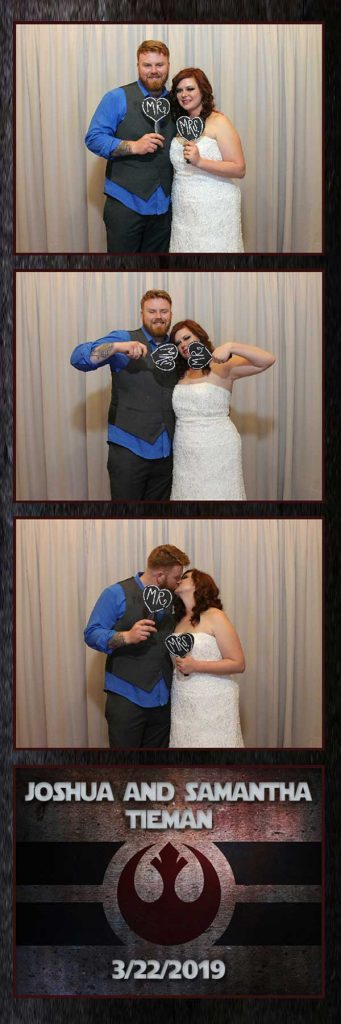 Wedding Photo Booth Rental  at Noah's Event Venue