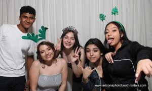 anabella's quince photo booth