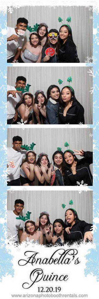 anabella's quince photo booth rental