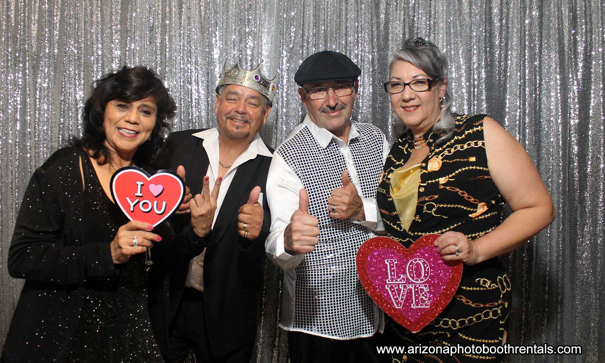 disco themed birthday party photo booth rental