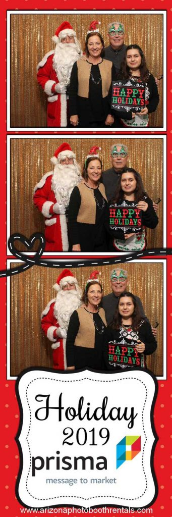 prisma holiday paarty photo booth rental