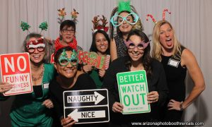 holiday party at the camby