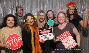 winter party photo booth rental