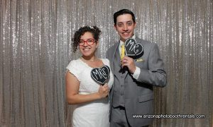 murphy reception photo booth rental