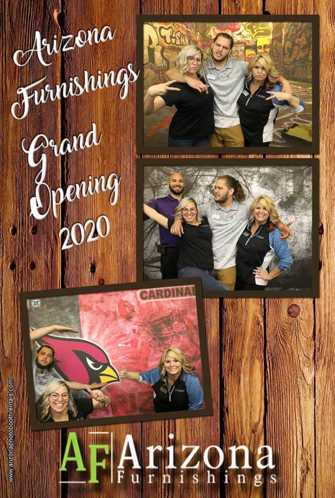 grand opening photo booth rental