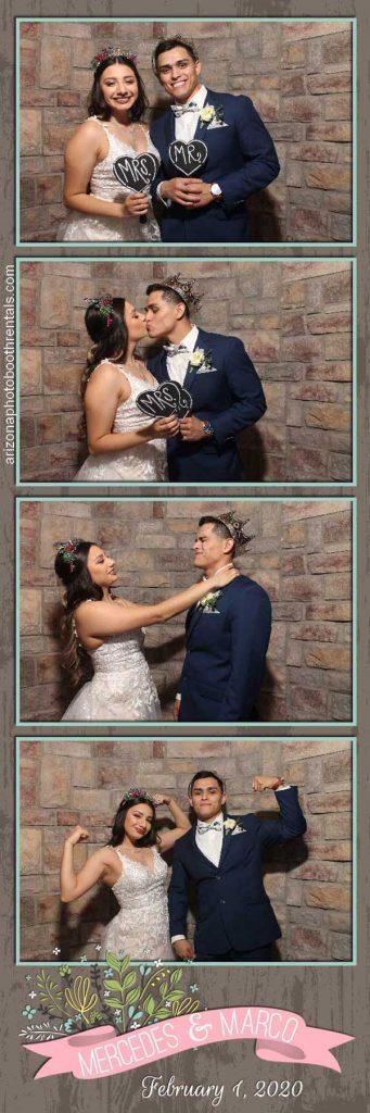 ashley castle wedding reception photo booth rental