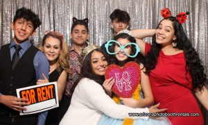 red mountain ranch cc birthday party photo booth rental