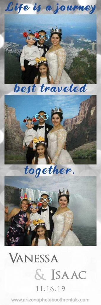 val vista lakes weddings photo booth rental