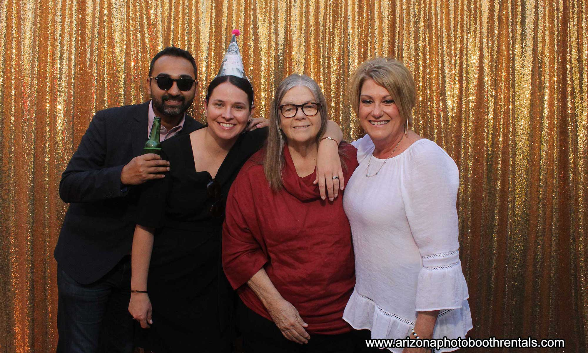 70th birthday photo booth