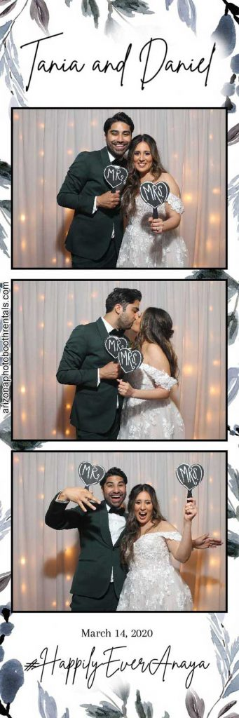 tercero wedding reception photo booth rental
