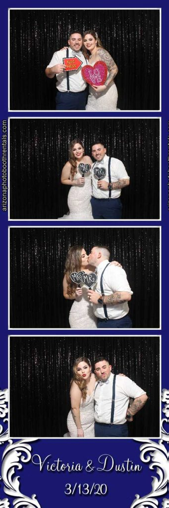 villa tuscana wedding reception photo booth rental