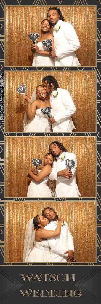 watson wedding photo booth rental
