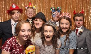 winter ball photo booth rental