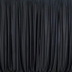 black color photo booth backdrop