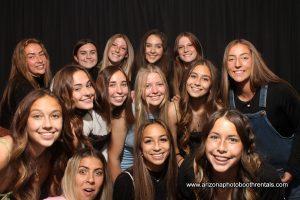 cv girls soccer photo booth rental