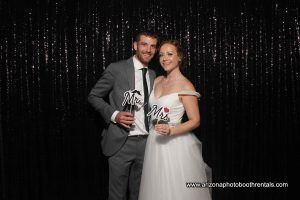 Wedding Photo Booth Rental for Brock and Sara at Rustler's Rooste