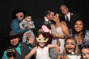 Wedding Photo Booth Rental at Windmill Winery