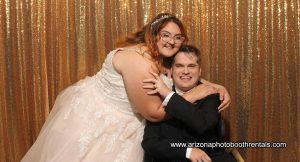 wedding photo booth rental for jake and ellie