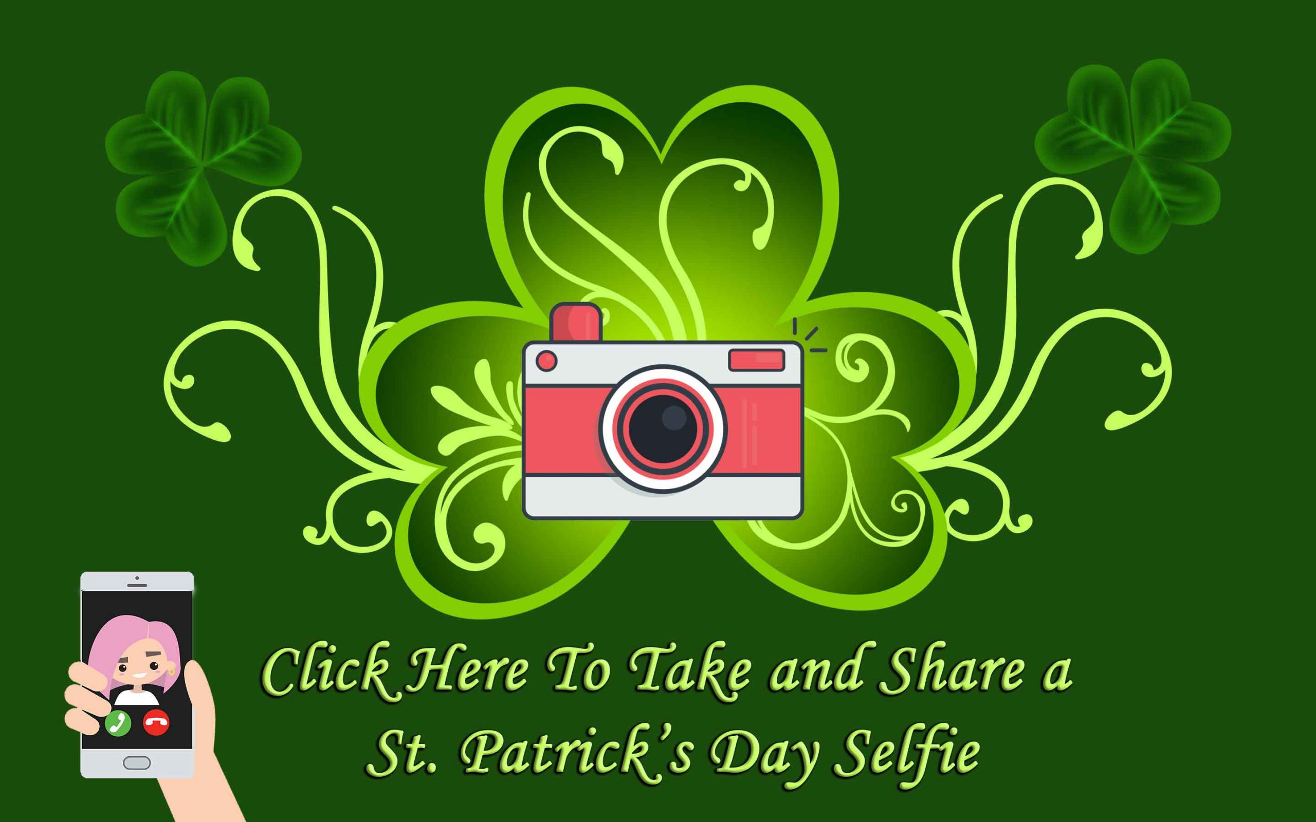St. Patrick's Day Selfie