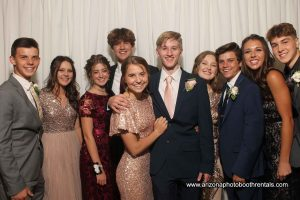 Photo Booth Rental for Heritage Academy Prom