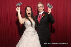 Mesa Country Club Wedding Photo Booth