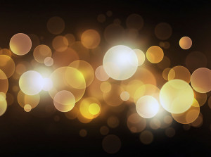 black and gold bokeh photo booth background