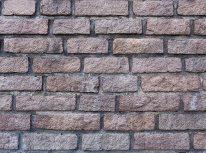 brick wall photo booth background