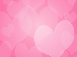 pink hearts photo booth background