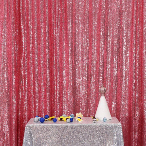 Fuschia Pink Sequin Photo Booth Backdrop