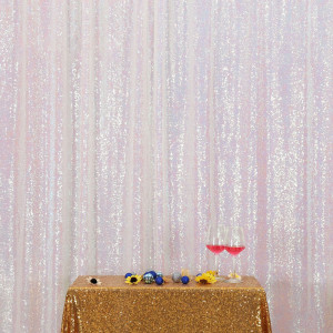 Iridescent Sequin Photo Booth Backdrop
