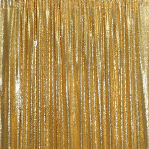 Sparkly Gold Sequin Photo Booth Backdrop