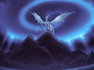 dragon on mountain