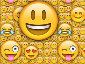 large smiley emoji