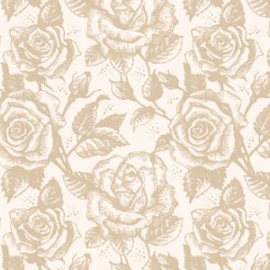 cream pastel roses photo booth background